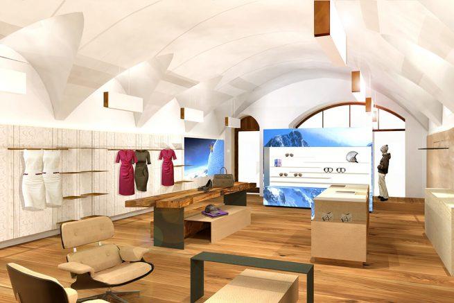 Innenarchitektur Bogner Innsbruck Flagshipstore 01