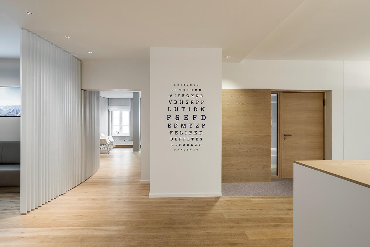 mhp   Architekten Innenarchitekten: Smile Eyes Augenarztpraxis