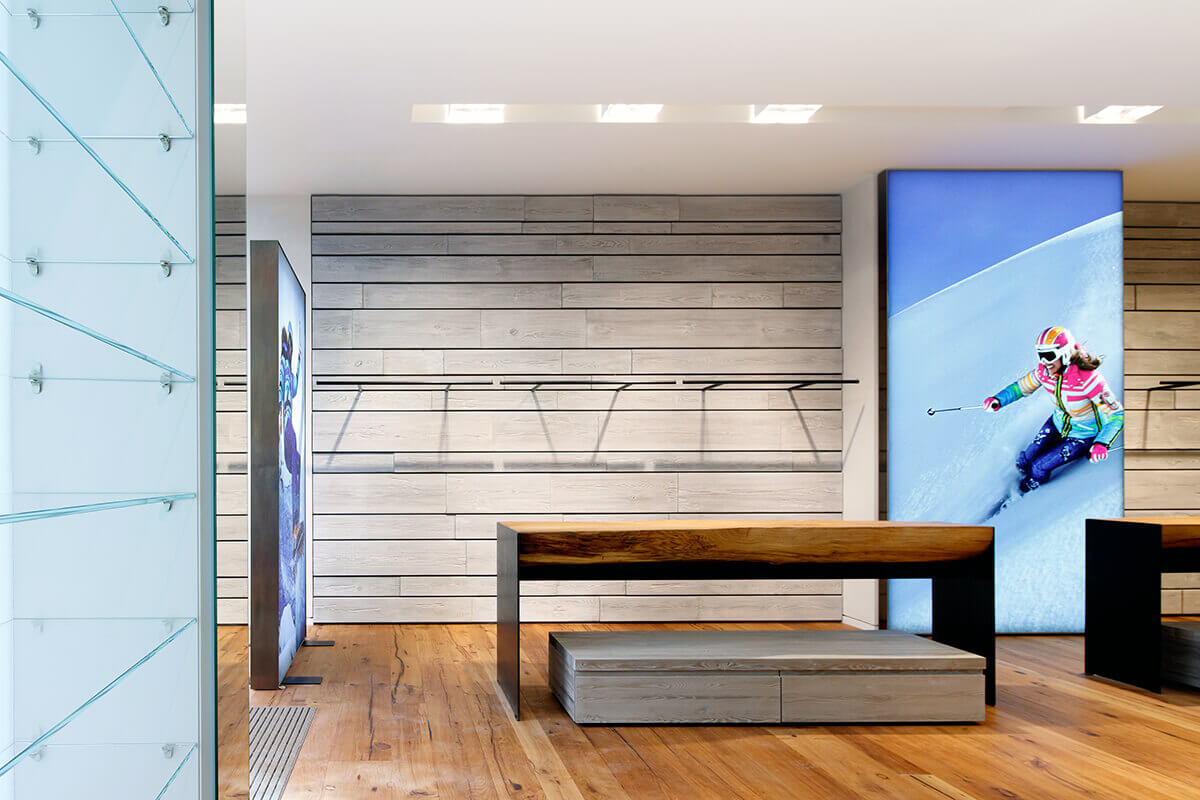 Innenarchitekten Frankfurt mhp architekten innenarchitekten münchen bogner flagshipstore