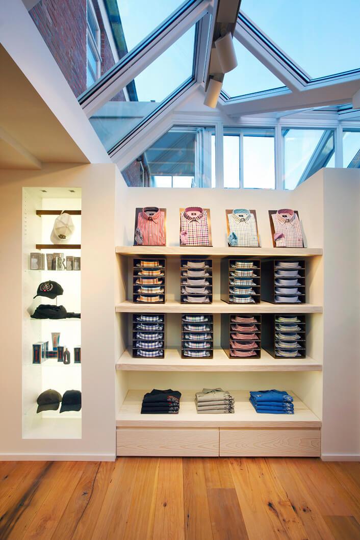 mhp architekten innenarchitekten bogner store sylt. Black Bedroom Furniture Sets. Home Design Ideas