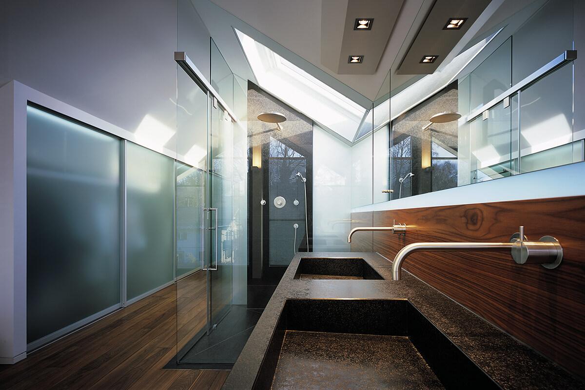 mhp architekten innenarchitekten m nchen wohnhaus am. Black Bedroom Furniture Sets. Home Design Ideas