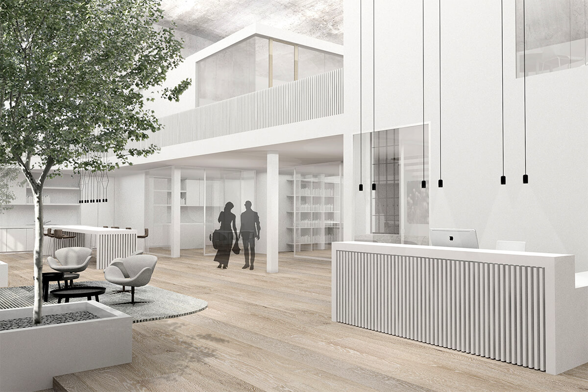 Mhp architekten innenarchiten m nchen showroom isaria wohnbau ag - Mhp architekten ...