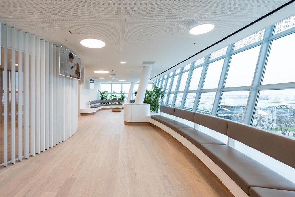 Innenarchitektur: Smile Eyes Augenklinik, Airport München