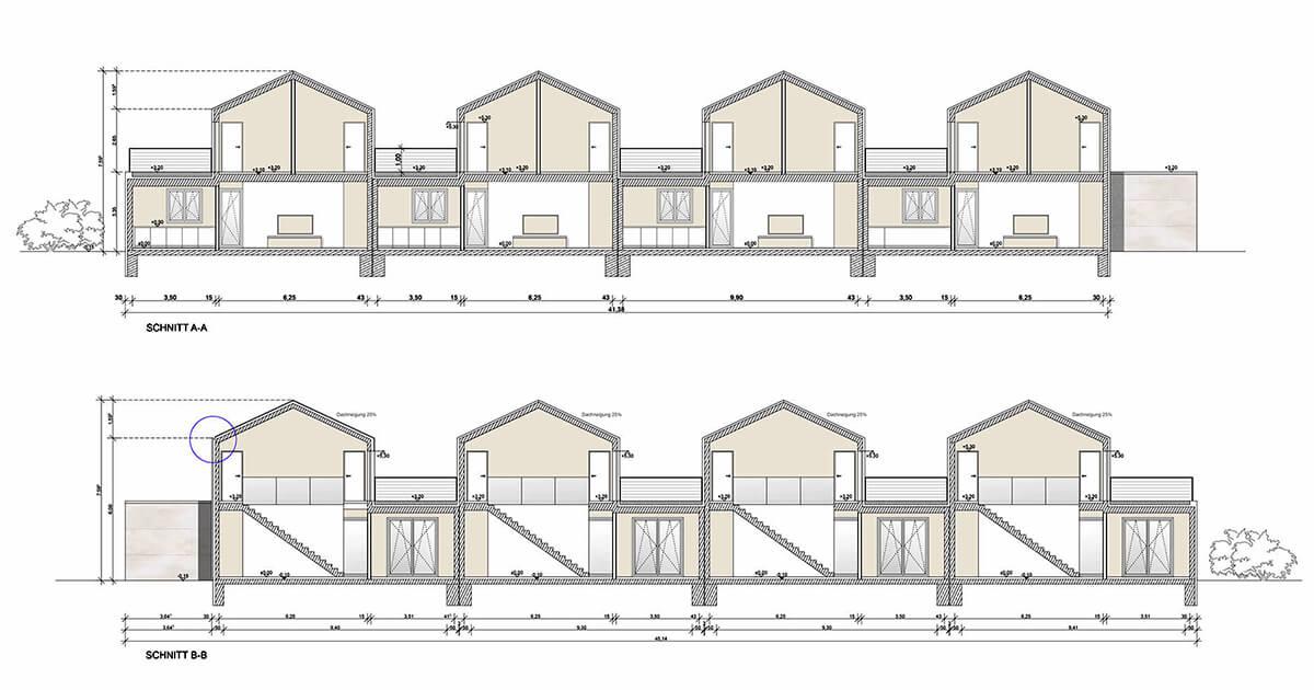 mhp architekten innenarchitekten m nchen wohnbebauung k. Black Bedroom Furniture Sets. Home Design Ideas