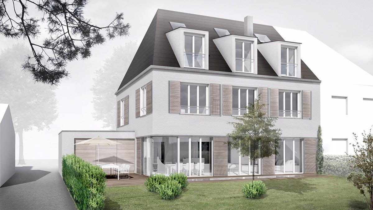 Mhp architekten innenarchitekten m nchen wohnhaus rendering - Mhp architekten ...