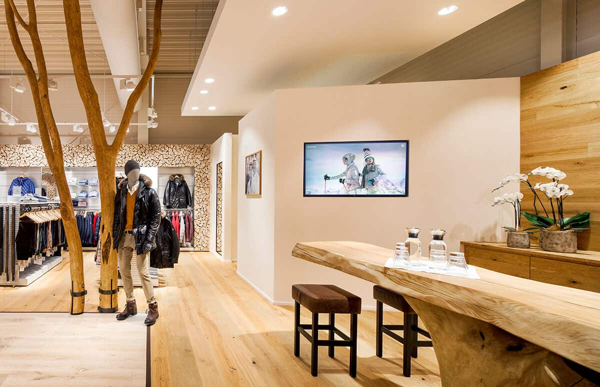 Innenarchitektur: Bogner Outlet